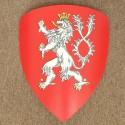 Štít s erbem českého království