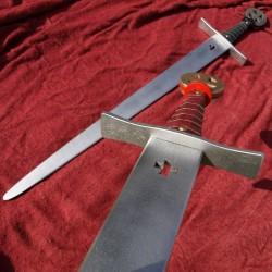Dřevěný meč templářský pro děti