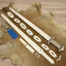 Germánský meč stavebnice