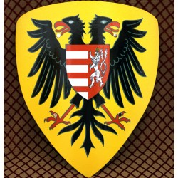 Štít s erbem Zikmunda Lucemburského