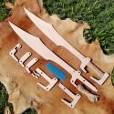 Spartský meč stavebnice