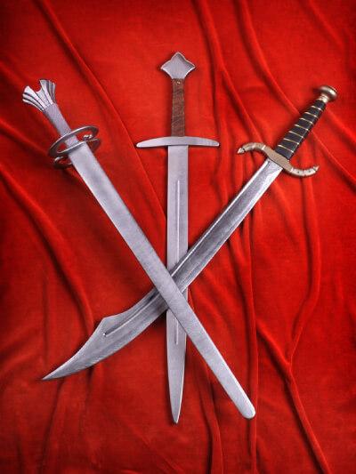 dětské dřevěné meče
